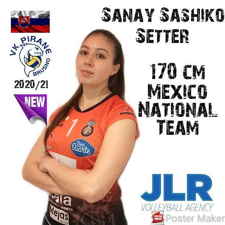 Sanay Sashiko | JLR Volleyball Agency |