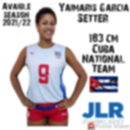 Yaimaris Garcia | JLR Volleyball Agency