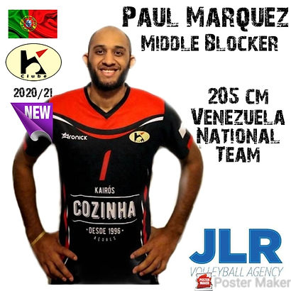 Paul Viloria | JLR Volleyball Agency | M