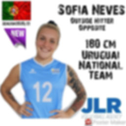 Sofia Neves | JLR Volleyball Agency