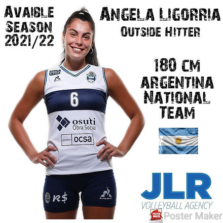Angeles Ligorria | JLR Volleyball Agency