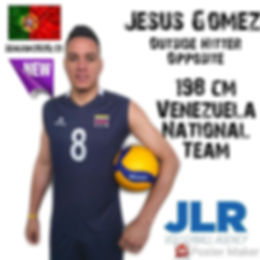 Jesus Gomez | JLR Volleyball Agency