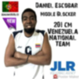 Daniel Escobar | JLR Volleyball Agency