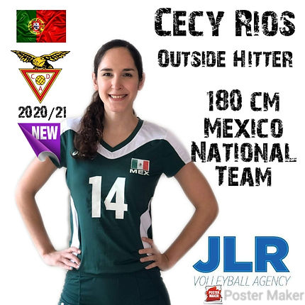 Cecy Rios | JLR Volleyball Agency | Outs