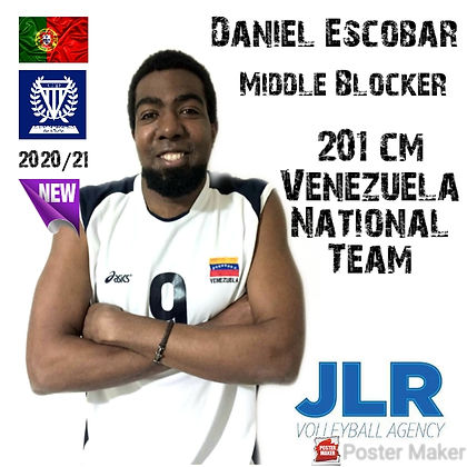 Daniel Escobar | JLR Volleyball Agency |