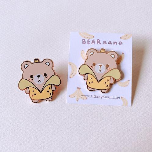 Bearnana Enamel Pin - Banana Bear