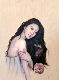 """Oil on Wood, 24x30"""", 2016"""