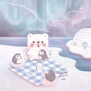 Cozy Polar Friends