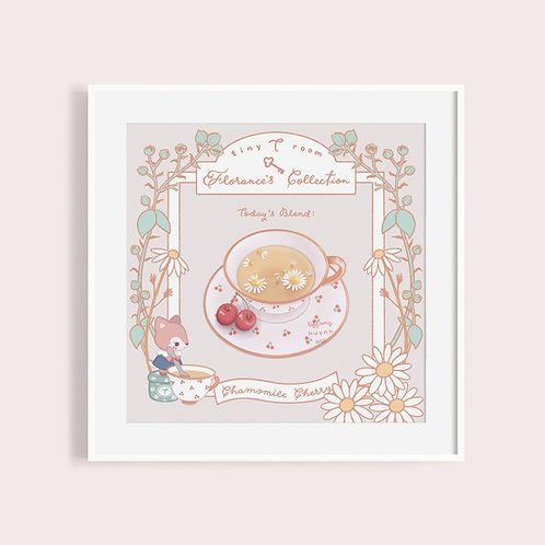 Florance's Tea Collection | Chamomile Cherry Tart Tea