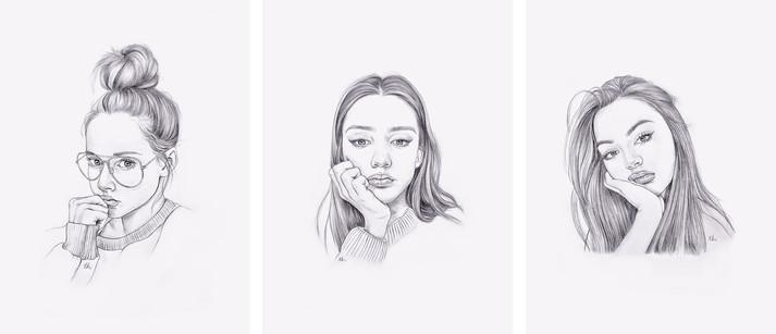 "Pencil in Sketchbook, 6x8"", 2017"