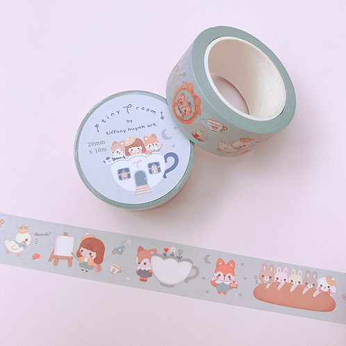 Tiny T Room - 20 mm Wide Washi Tape