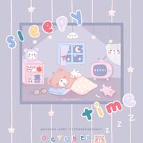 sleepy time - october