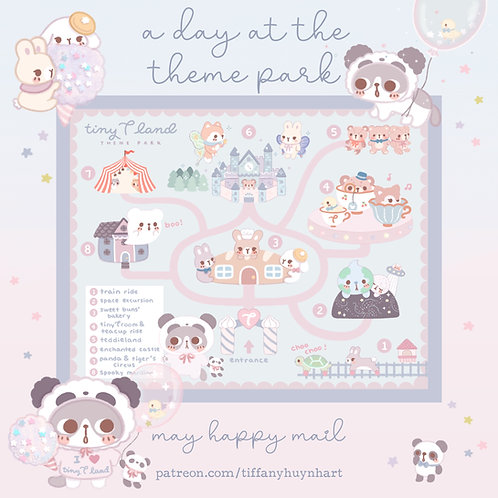 May - A Day at the Theme Park