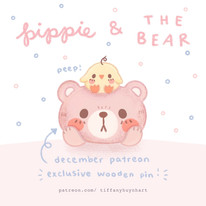 pippie and the bear - december