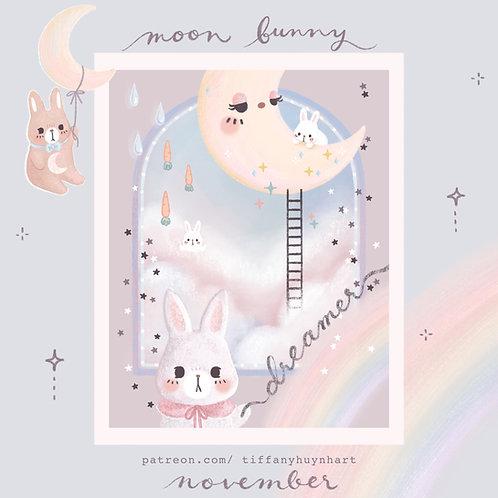 November - Moon Bunny
