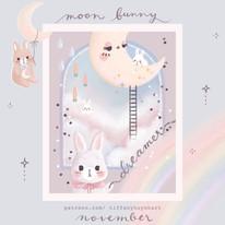 moon bunny - november