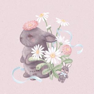Daisy Grey Bunny