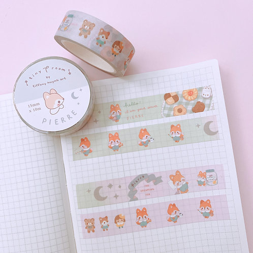 Pierre the Dreaming Fox - Washi Tape