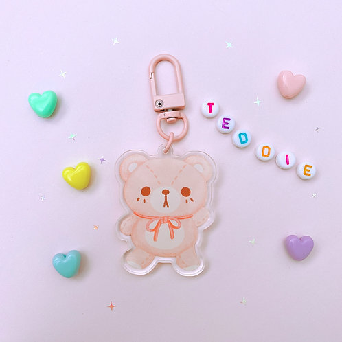 Teddie Bear - Keychain