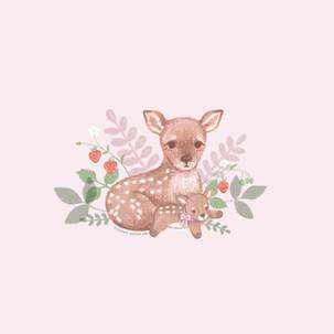Deer with plush