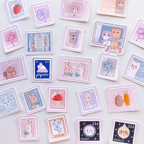 Fairytale Stamps - Sticker Sheet