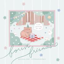 forest friends - september