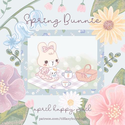 April - Spring Bunnie