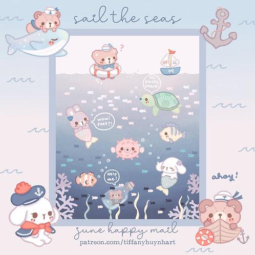 June - Sail the Seas