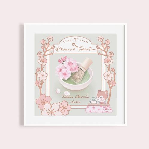 Florance's Tea Collection | Matcha Latte | Sakura Matcha