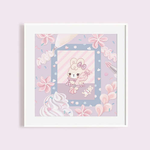 Cream Bunny Baby