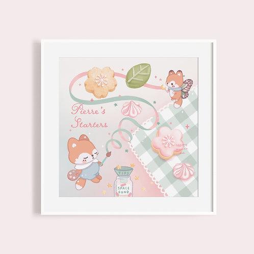 Pierre's Starters | Sakura Matcha Illustration