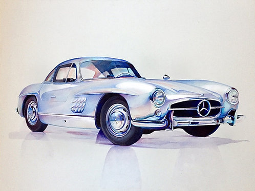 Iconic (1954 Mercedes-Benz 300SL Gullwing)