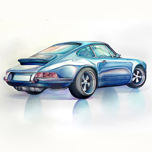 Timeless (Porsche 911 Reimagined by Singer)