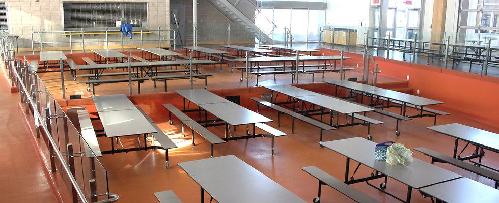cafeteria rental Bedford