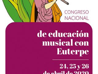 VII Conngreso educación musical con Euterpe Zaragoza 2020