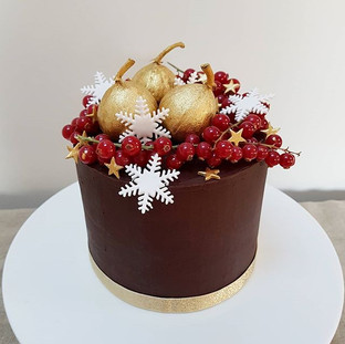 chocolate christmas cake berkshire oxfordshire