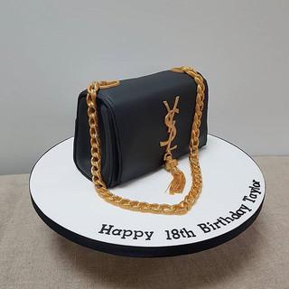 YSL handbag cake