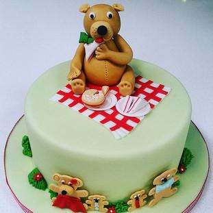 teddy bear kids cake