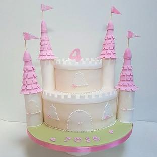 princess castle cake kids cake birthday cake