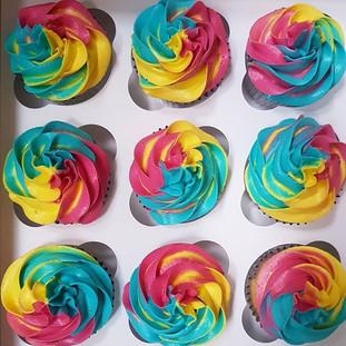 rainbow cupcakes berkshire oxfordshire