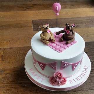 teddy bear kids cake celebration cakes berkshire oxfordshire