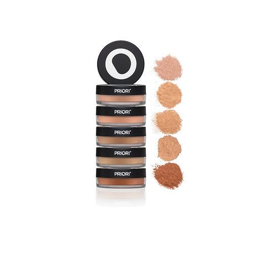 PRIORI Mineral Skincare Powder - SPF 25 Sunscreen (multiple shades)