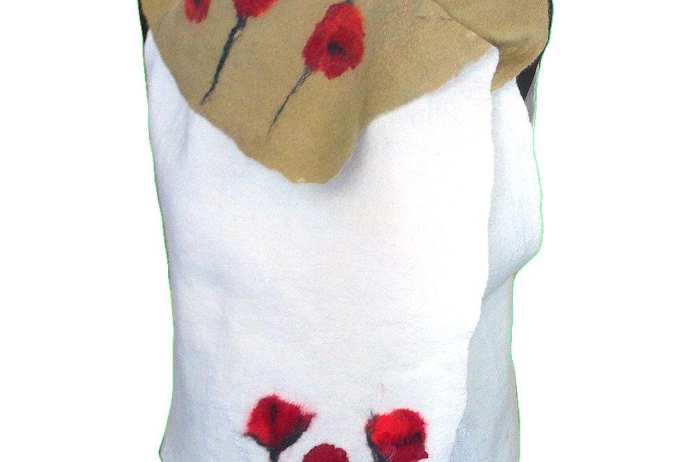 Gilet papaveri / Poppies vest