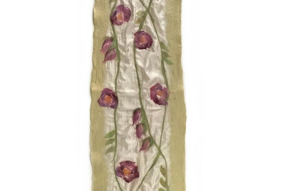 Sciarpa rose / Roses scarf