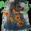 Thumbnail: Sciarpa girasoli / Sunflowers scarf