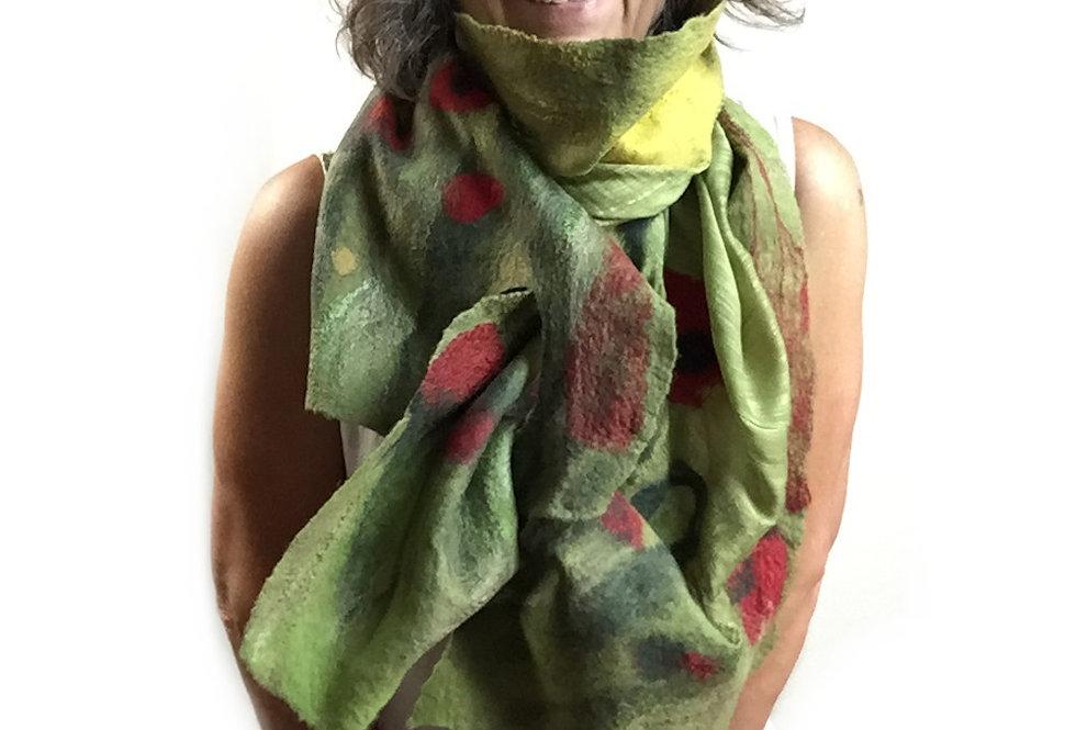 Sciarpa campo di papaveri / Poppy field scarf