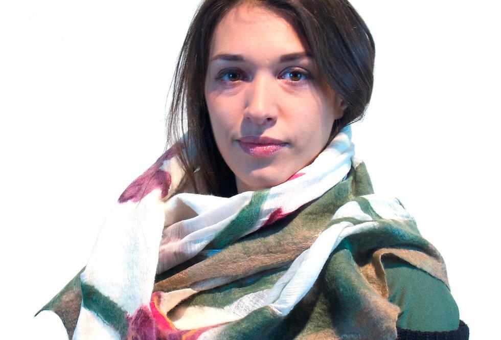 Sciarpa tulipani / Tulips scarf