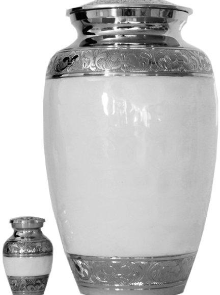 Brass Urn with Ceramic Enclosure