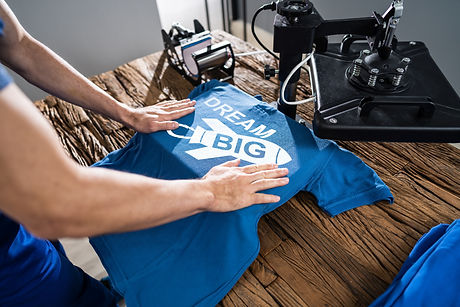 bigstock-Man-Printing-On-T-Shirt-In-Wor-