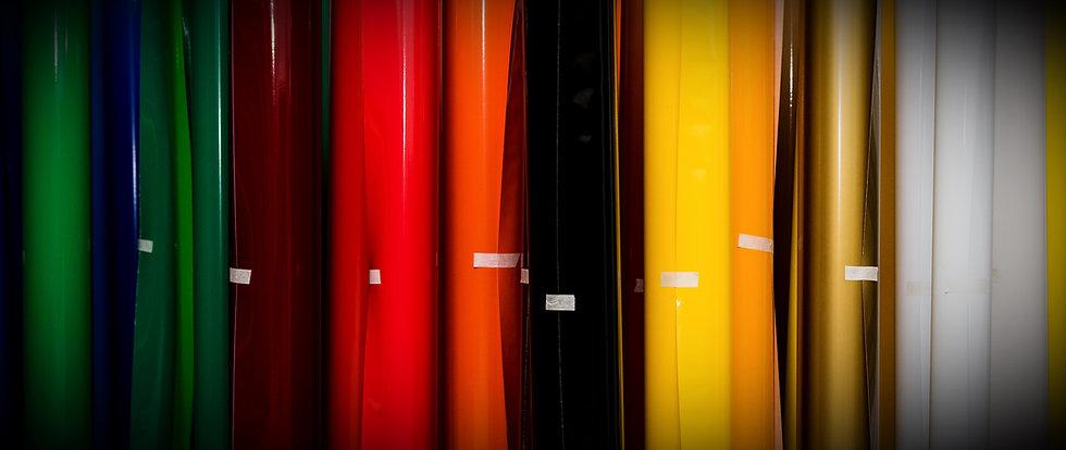 colored vinyl rolls